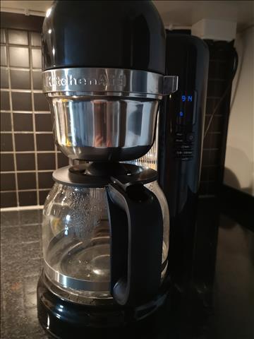 Kaffebryggare 1,7 l Svart från KitchenAid » Fri frakt