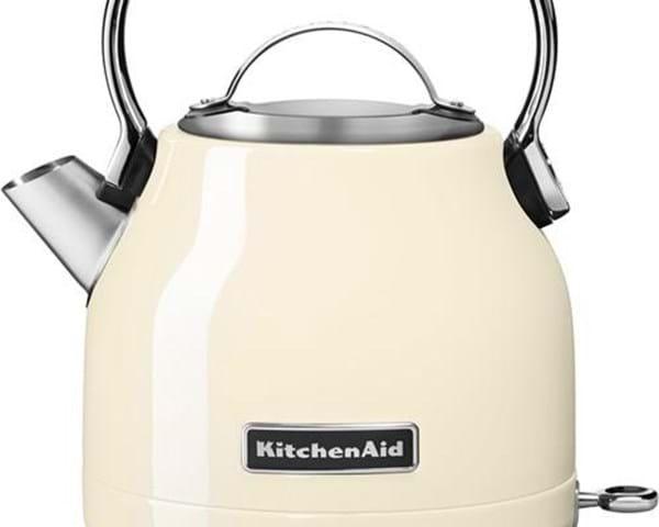 Elkedel 1,25 liter fra KitchenAid » Kuppelformet kedel med drypfri tud